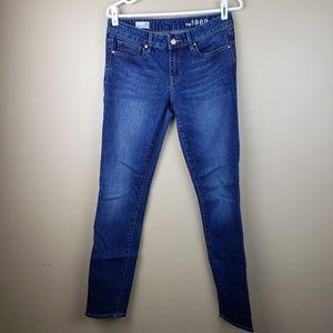 EUC Gap 1969 Always Skinny Jean's, 28 Long